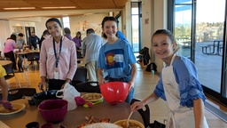 Sixth-Graders Embrace Service for Thanksgiving