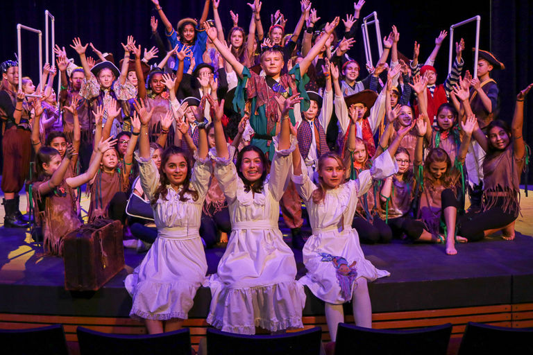 Middle School Musical Soars!