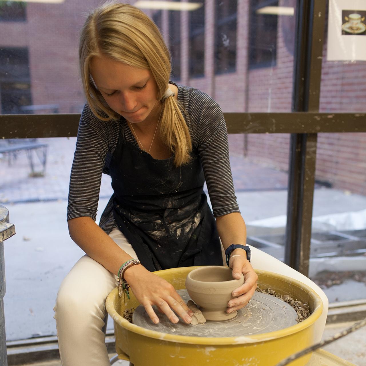 Kent Denver School Center For The Arts: Ceramics, Metals And Sculpture